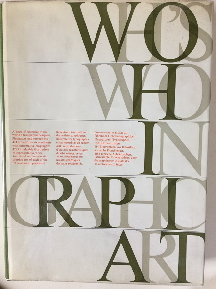 Image for Who's Who in Graphic Art (Volume 1)