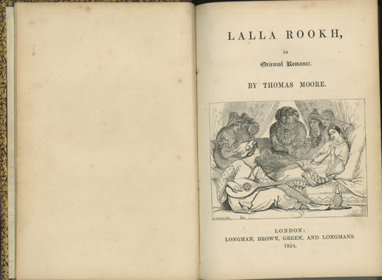 Image for Lalla Rookh, an Oriental Romance
