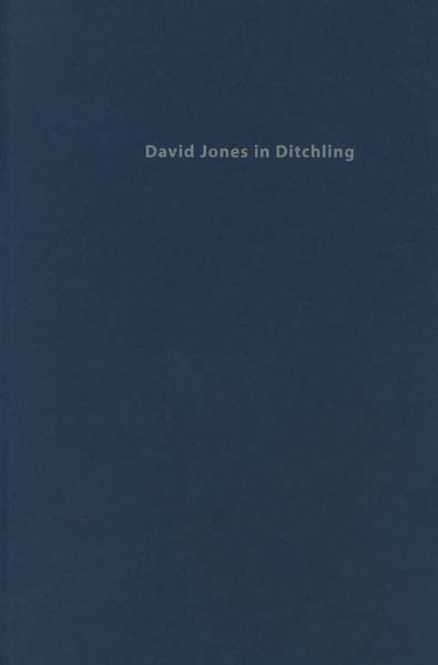 Image for David Jones in Ditchling 1921-1924