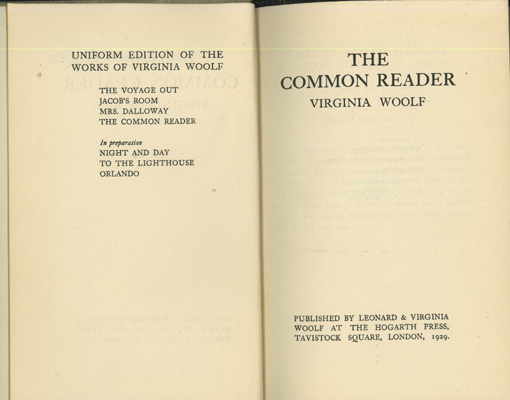 Image for The Common Reader