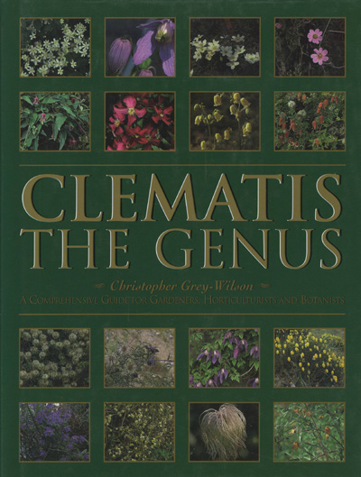 Image for Clematis - The Genus: a Comprehensive Guide for Gardeners, Horticulturists and Botanists