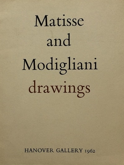 Image for Matisse and Modigliani Drawings