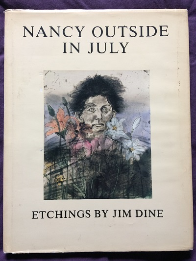 Image for Etchings by Jim Dine - Nancy Outside in July