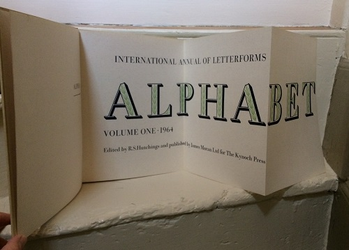 Image for International Annual of Letterforms - Alphabet - Volume One, 1964