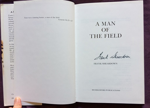 Image for A Man of the Field