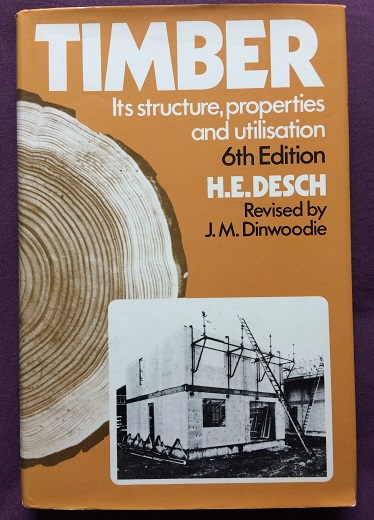 Image for Timber: Its Structure, Properties and Ultilisation - 6th Edition