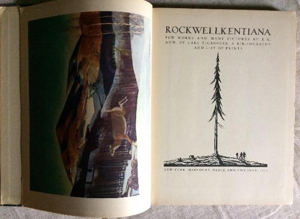 Image for Rockwellkentiana - Few Words and Many Pictures by R.K and, By Carl Zigrosser, A Bibliography and List of Prints